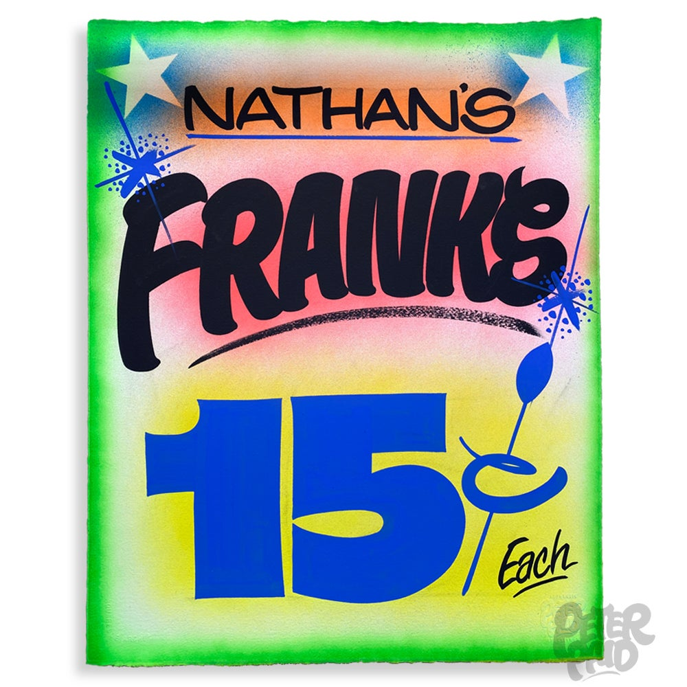 Image of Nathan's Franks - Arches Paper