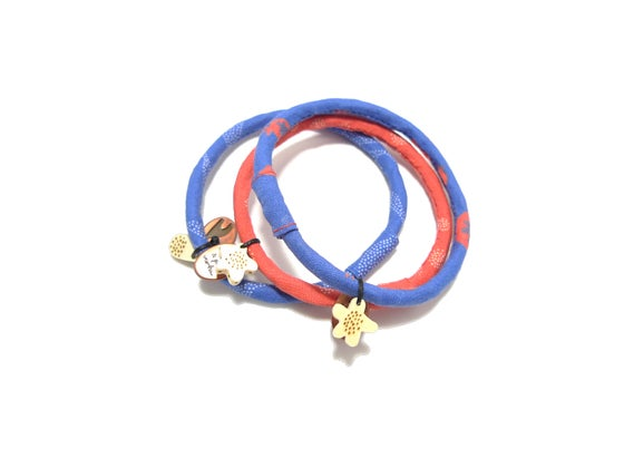 Image of Totem - Bracelets Tons Bleu Orange