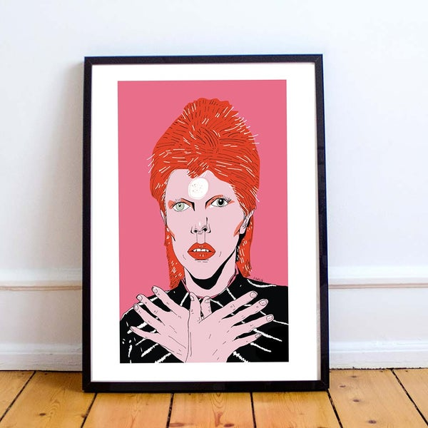 Image of David Bowie print second edition