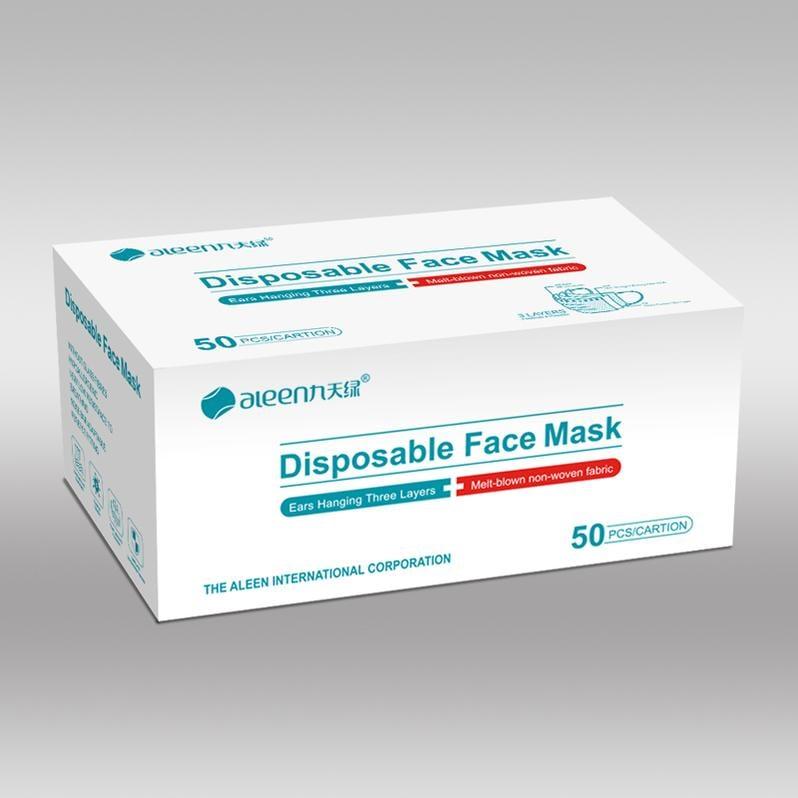 Aleen 3ply Civilian Face Mask (Box of 50)