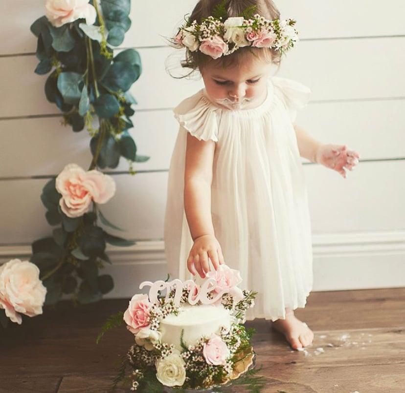 fresh floral crowns (INFANTS/KIDS)