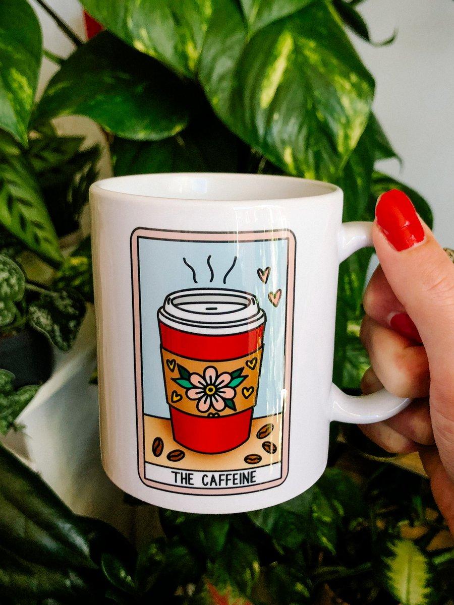 Image of Mug Caffeine Tarot