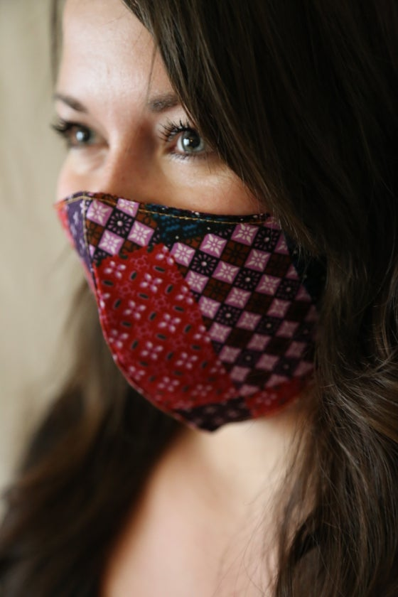 Image of Mouth Patch Cotton Mask