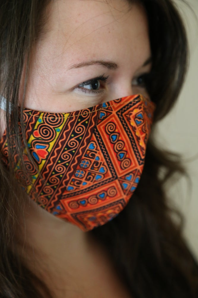 Image of Mucho Gusto Cotton Mask