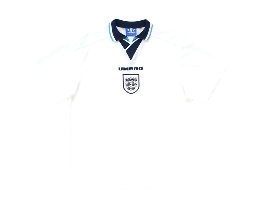 Image of 1995-97 Umbro England Home Shirt XL