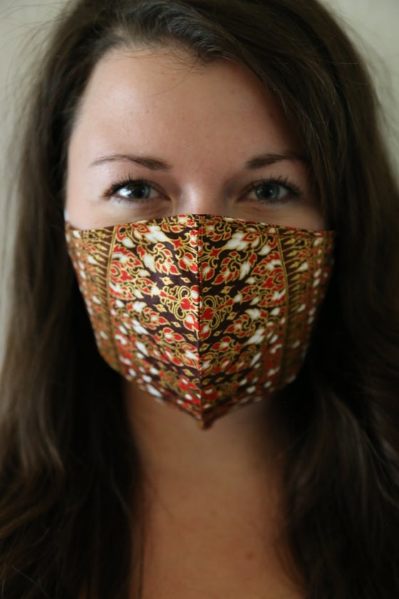 Image of Wander Mandala Cotton Mask
