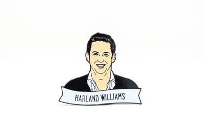 Image of Harland Williams Enamel Pin