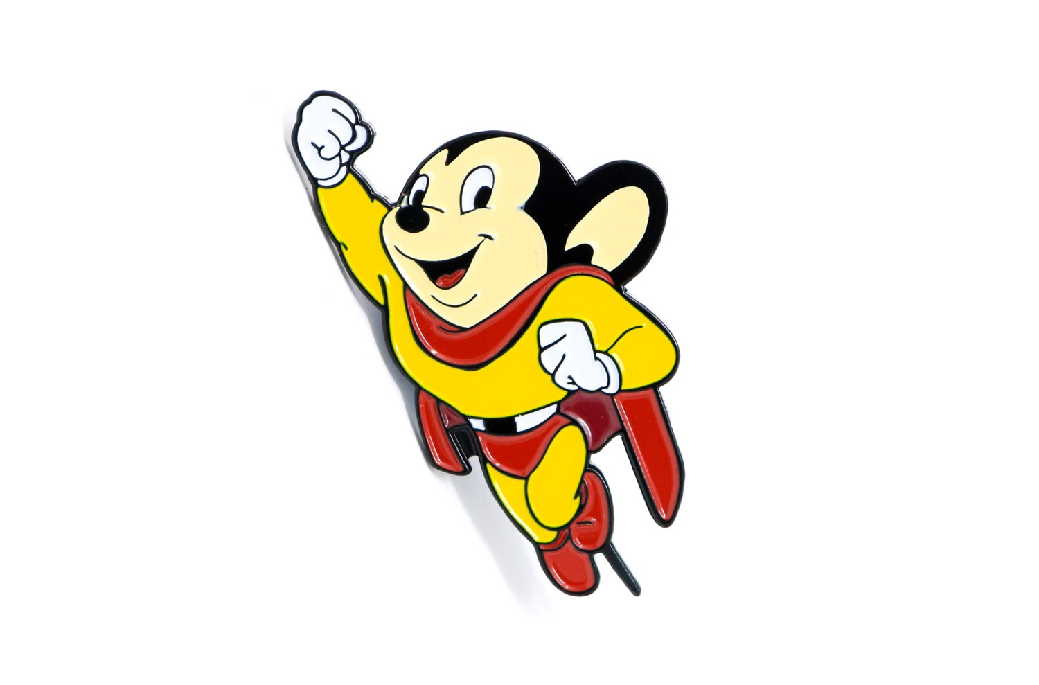 Image of Mighty Mouse - Classic Mighty Mouse Enamel Pin