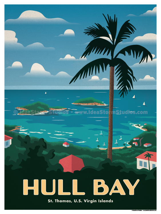 Image of Hull Bay Poster