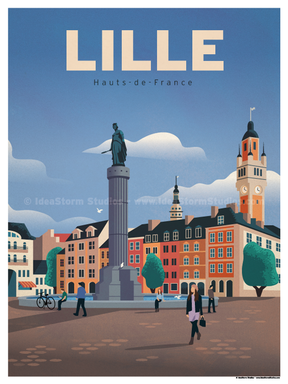 Image of Lille Poster