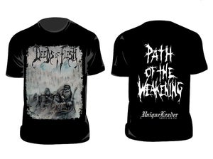 Image of DEEDS OF FLESH Path of the weakening T-shirt