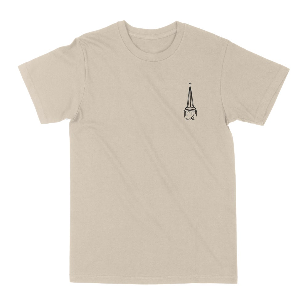 Image of The Steeple Tee - Tan