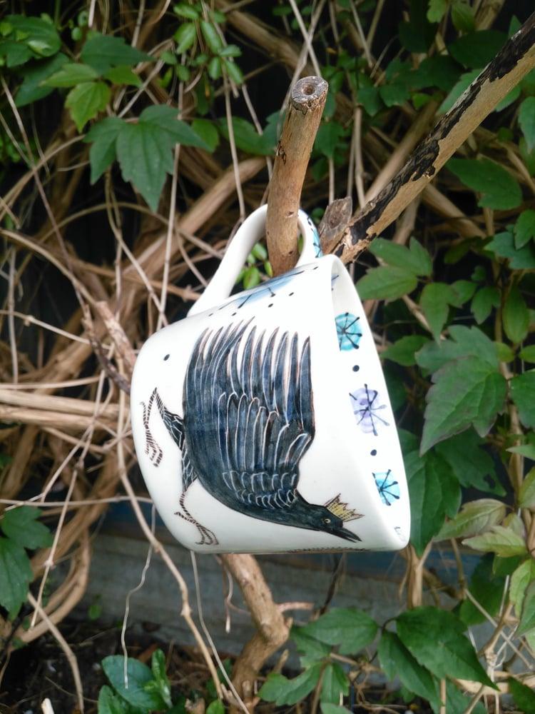 Image of Be Bold Raven Mug