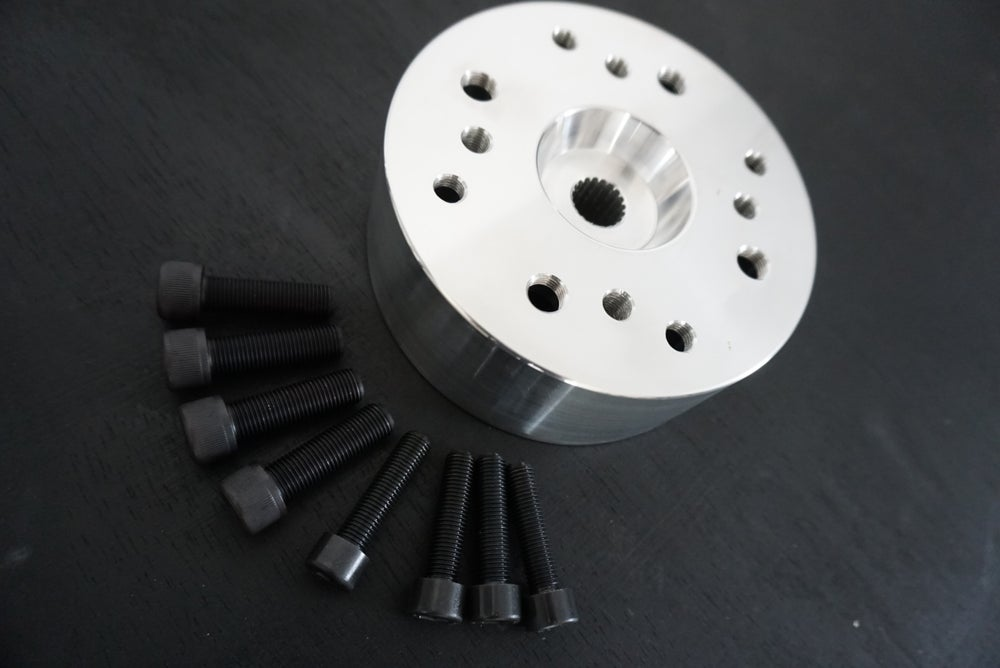 FLP - GY6 DRUM HUB  4x4 - 4x110 - 4x90