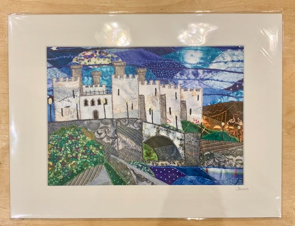 Image of Conwy Castle Print