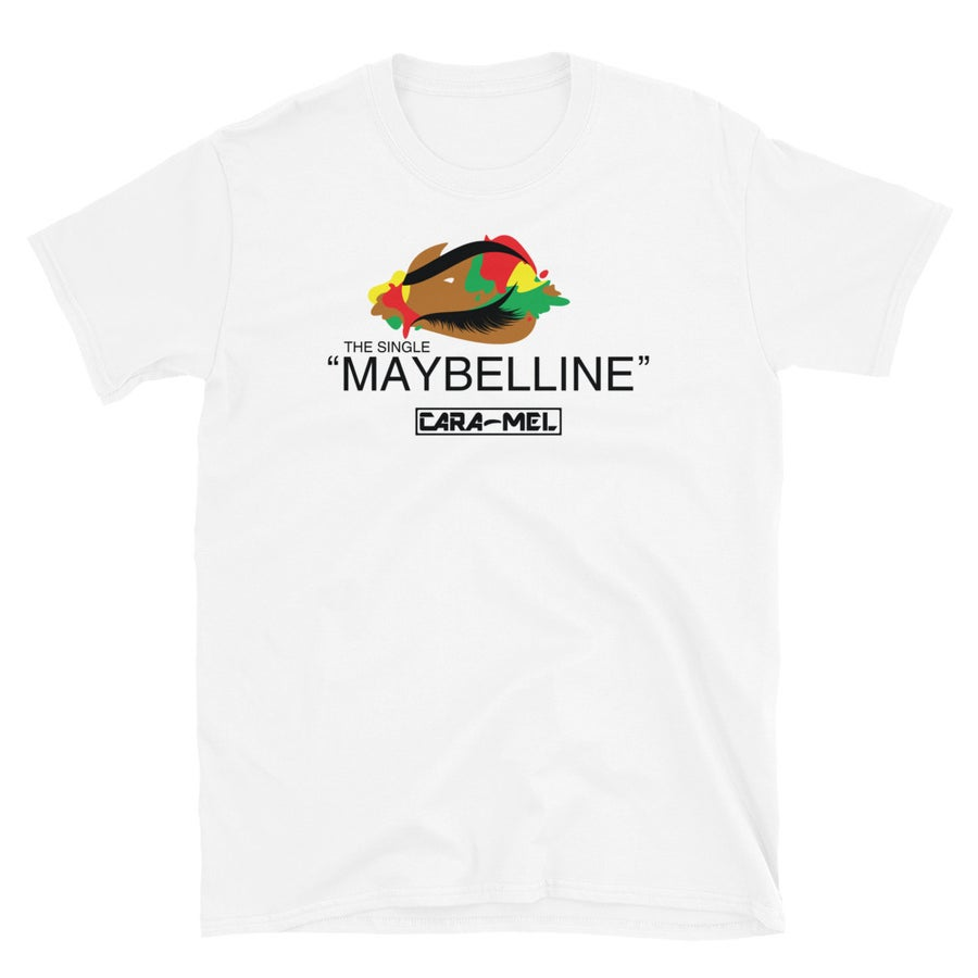 Image of Unisex Maybelline (The Single) White T-Shirt