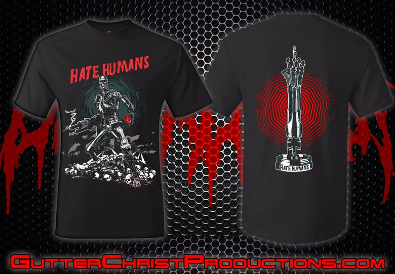 Image of HATE HUMANS SHIRT#5 T SHIRT (IN STOCK)
