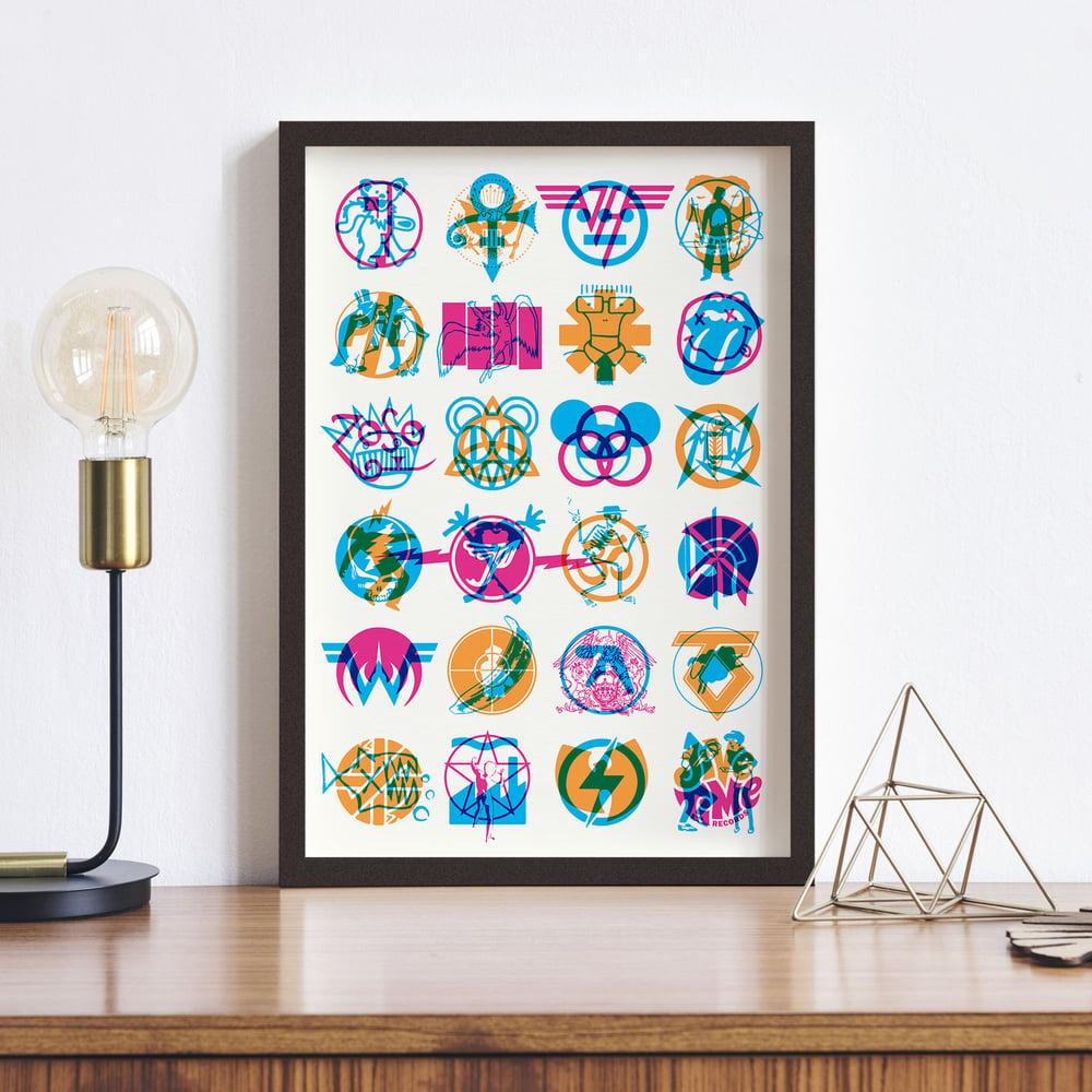 Image of Rock Hieroglyphics Poster