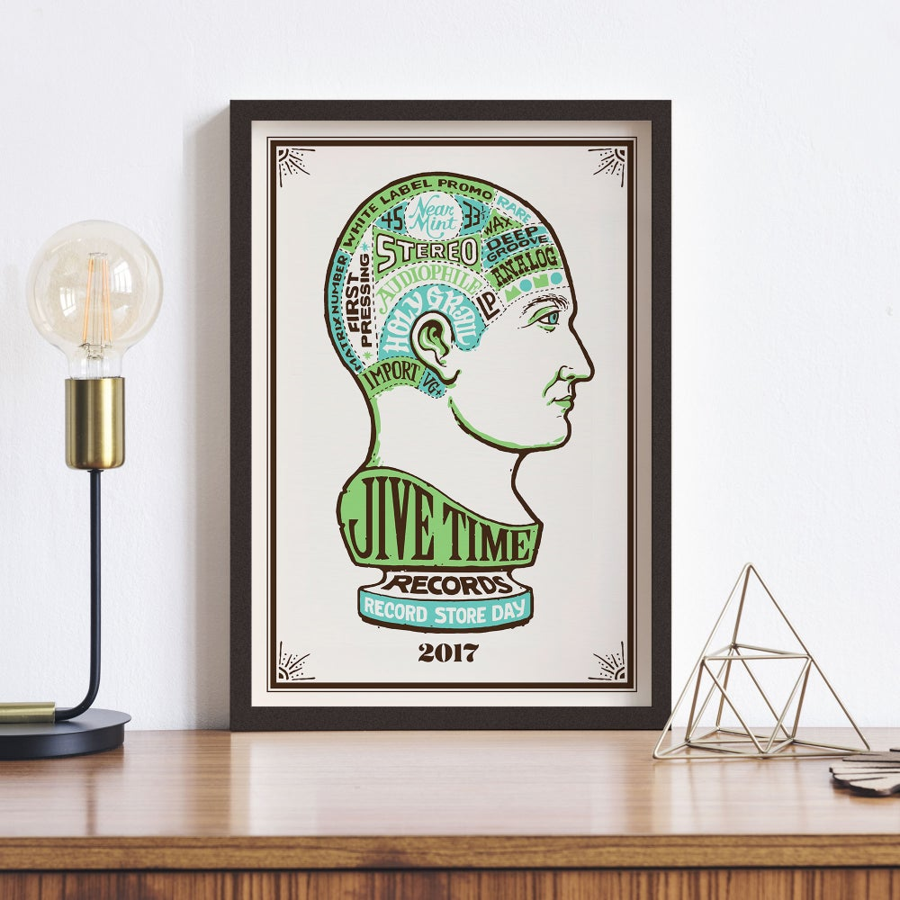 Image of 2017 Record Store Day Poster