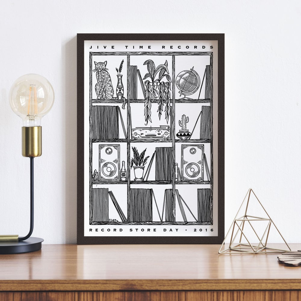 Image of 2016 Record Store Day Poster