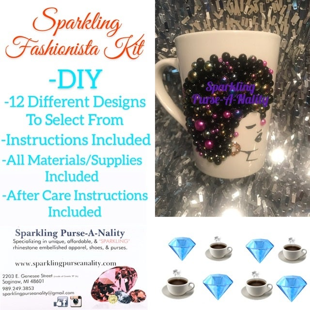 "Image of ""Sparkling"" Fashionista DIY"
