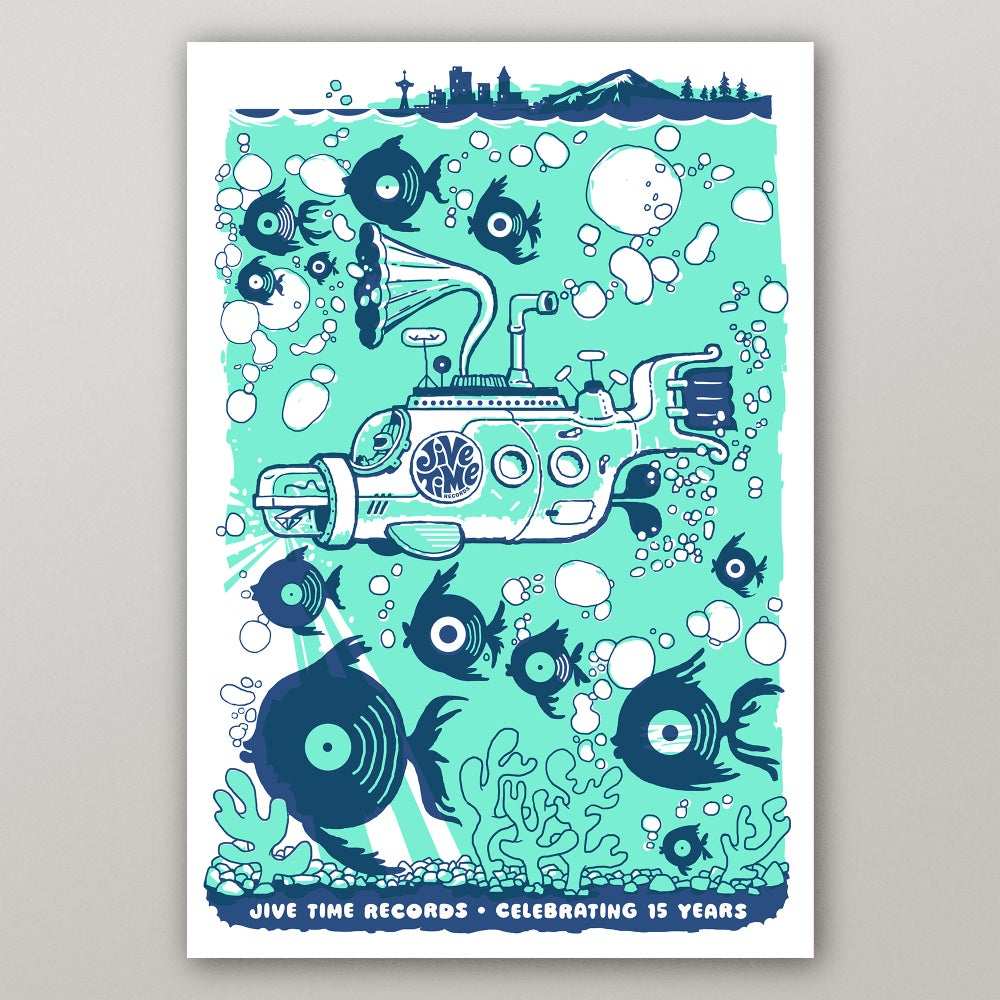 Image of 15th Anniversary Poster