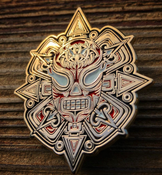 Image of Lucha Azteca Pin