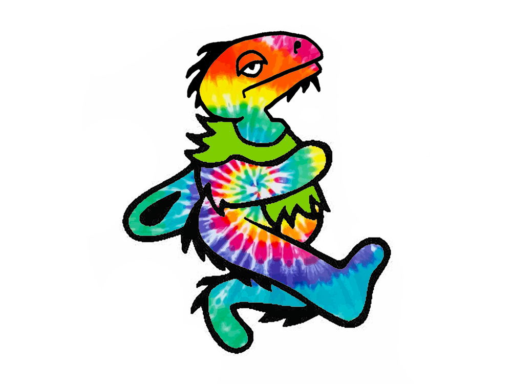 Image of Dancing Dino Sticker