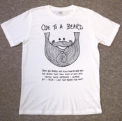 "Image of Exclusive ""Ode To A Beard"" Beard Song Tee"