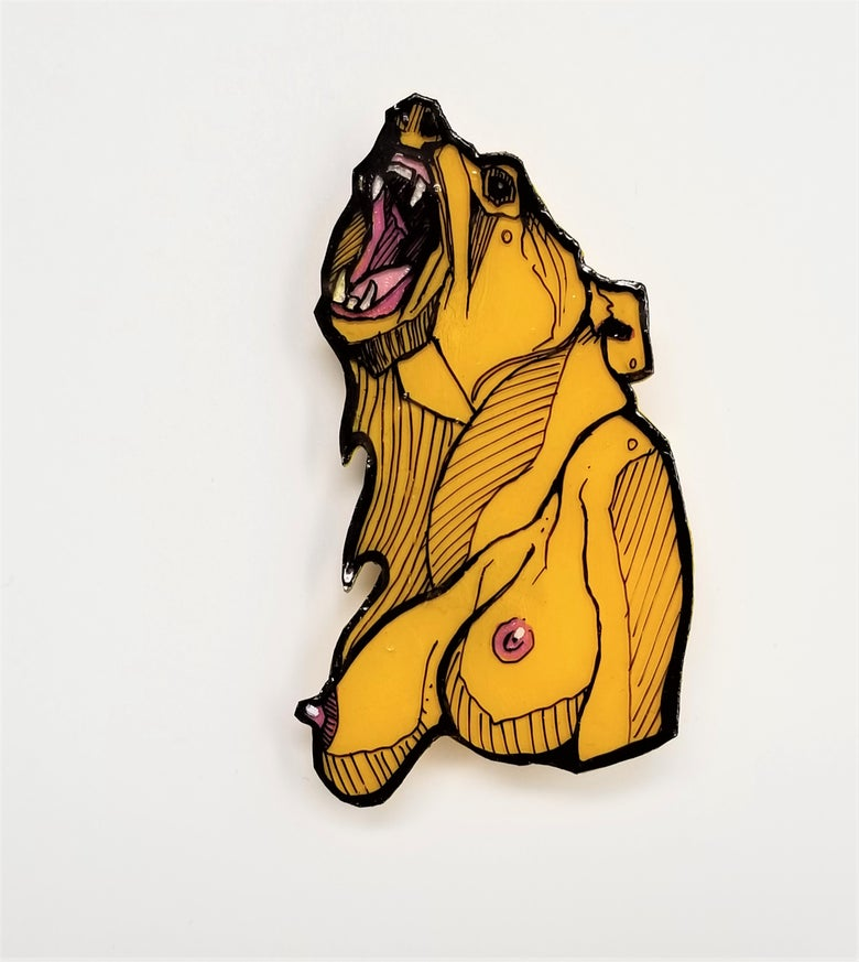 Image of Yellow Bear Pin