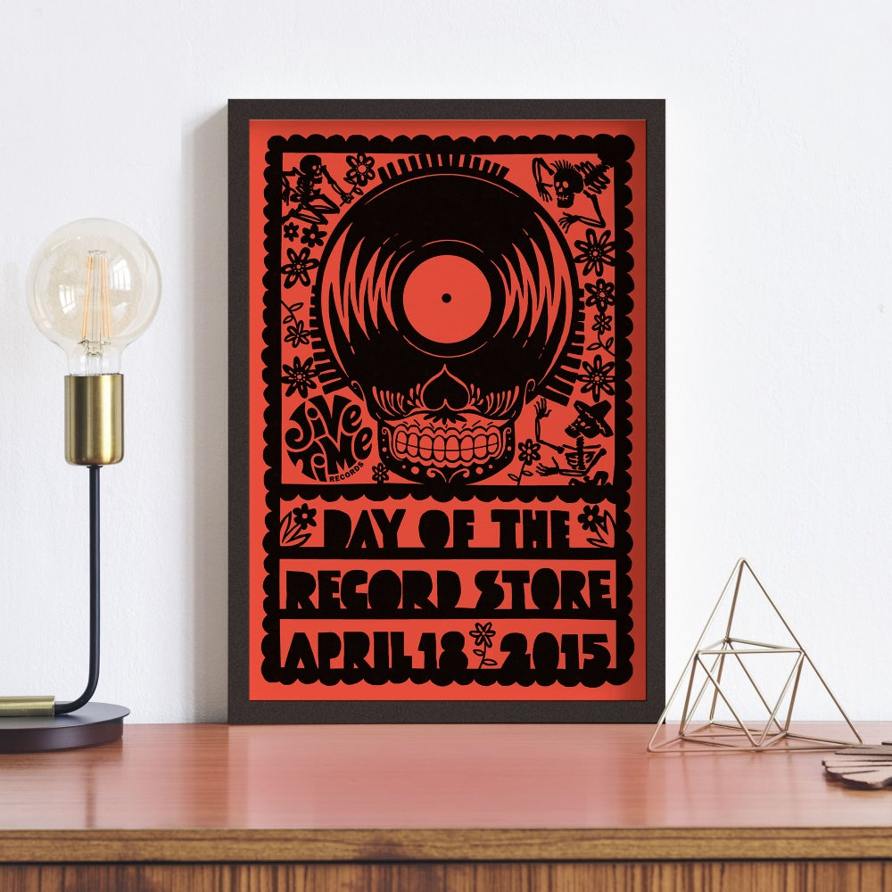 Image of 2015 Record Store Day Poster