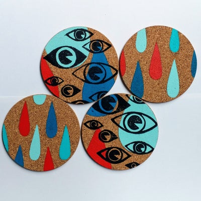 Image of Sad Eye Coasters