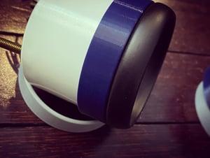 "Image of Gauge Pod Rings for custom fabrication - 52mm / (2 1/16"") • 60mm (2 1/2"") • 65mm (2 7/8"")"