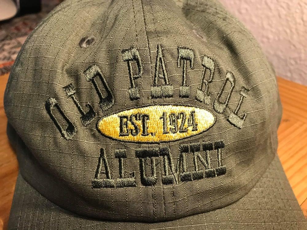 Image of OLD PATROL ALUMNI RIP STOP CAP