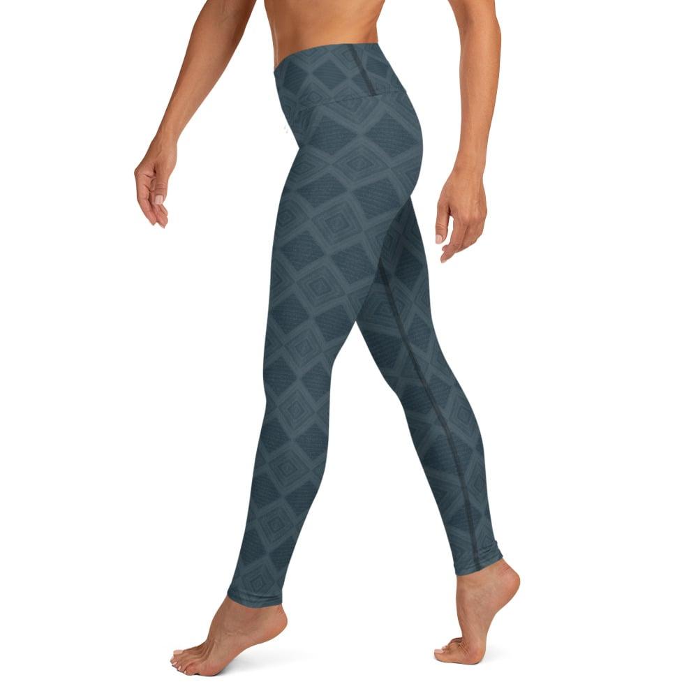 Image of Sky tile leggings