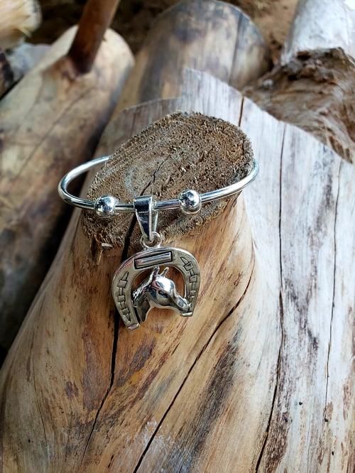 Image of Silver Horse Bracelet