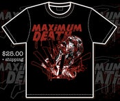 Image of STABBED TO DEATH t-shirt