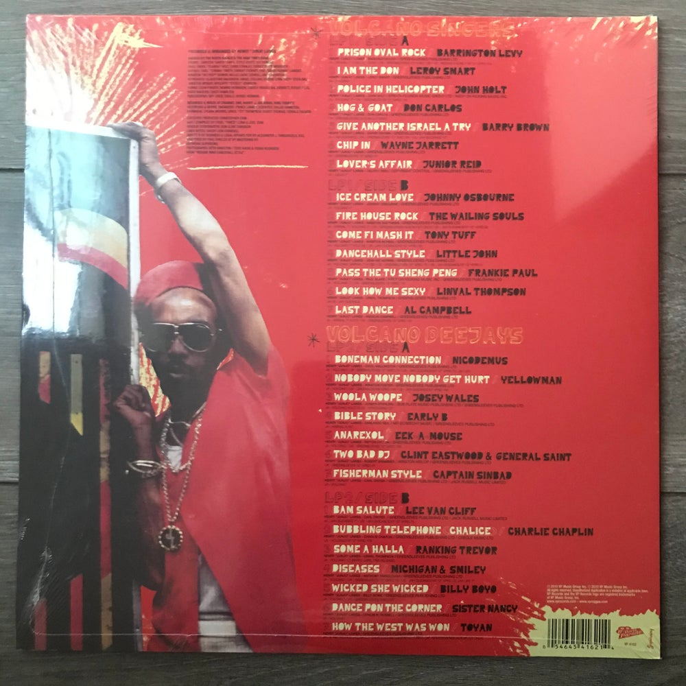 Image of Henry Junjo Lawes - Volcano Eruption Reggae Anthology Vinyl 2 LP