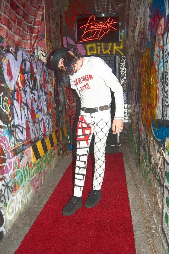 Image of Anarchy Freak Limited Edition punk pants