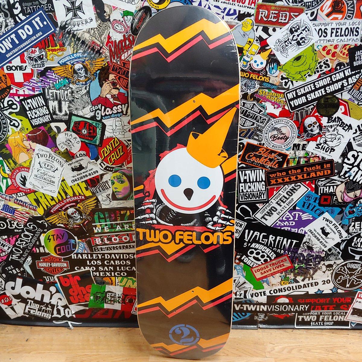 "Two Felons ""Jumbo Jack"" Skateboard Deck"