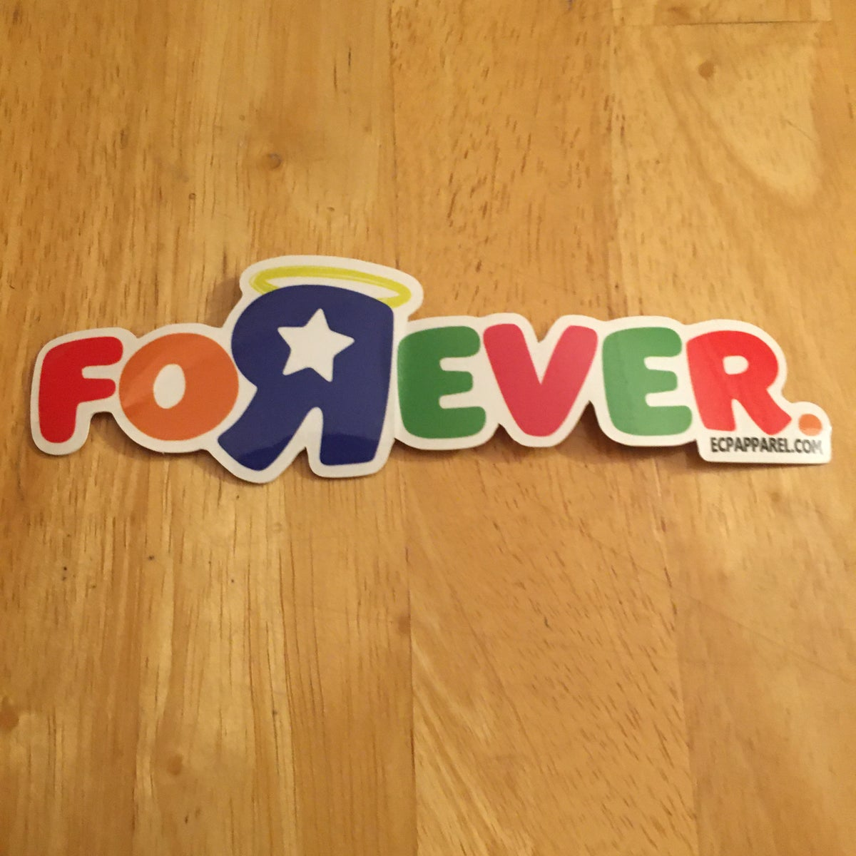"""Forever""- Die-Cut Sticker"