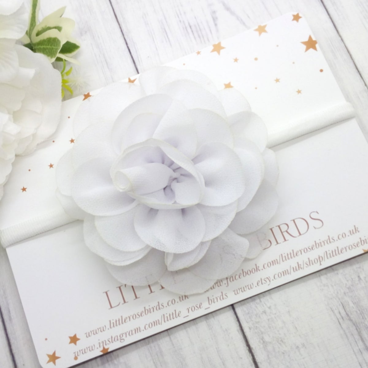 Image of CHOOSE YOUR OWN - Chiffon Flower Posies - 13 Colours