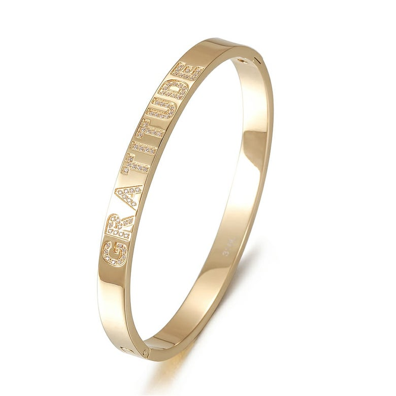 Image of Gratitude bangle