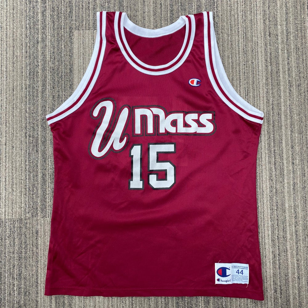 Image of Vintage Lou Roe UMass Minutemen Champion Jersey