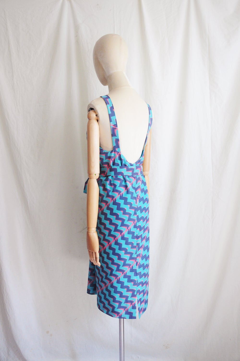Image of PRINTED HALTER DRESS