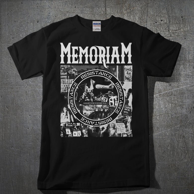 Image of Memoriam - T-Shirt - Resistance - Black