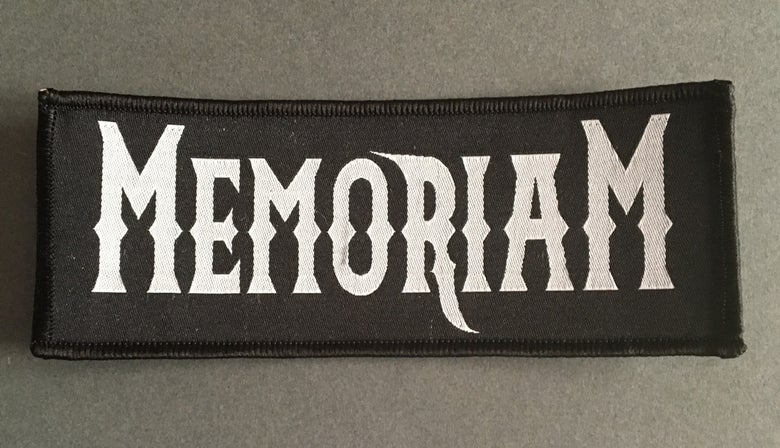 Image of Memoriam - Woven Patch