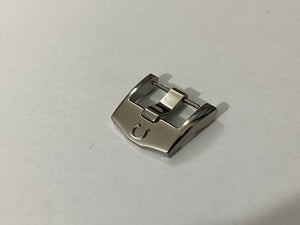 Image of OMEGA THICK HEAVY DUTY STAINLESS STEEL WATCH STRAP BUCKLE,18mm,NEW.