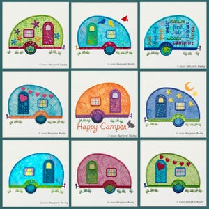 Image of GO!™ Camper Quilt Blocks