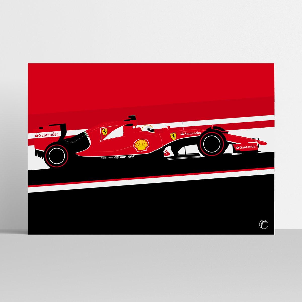 Image of Ferrari | Vettel Singapore 2015